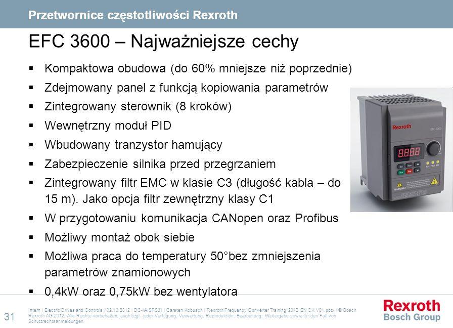EFC 3600 – Najważniejsze cechy