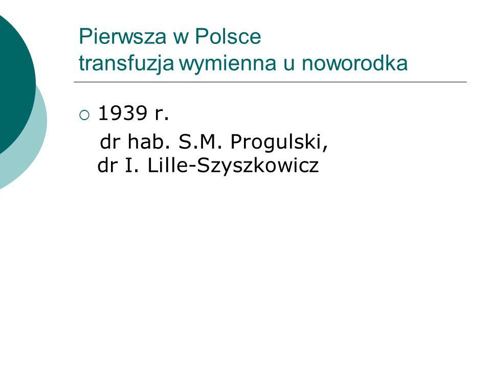 Pierwsza w Polsce transfuzja wymienna u noworodka