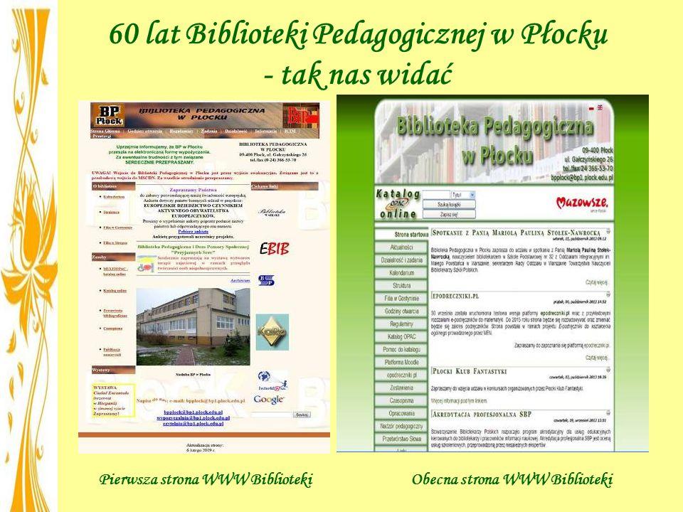 60 lat Biblioteki Pedagogicznej w Płocku - tak nas widać