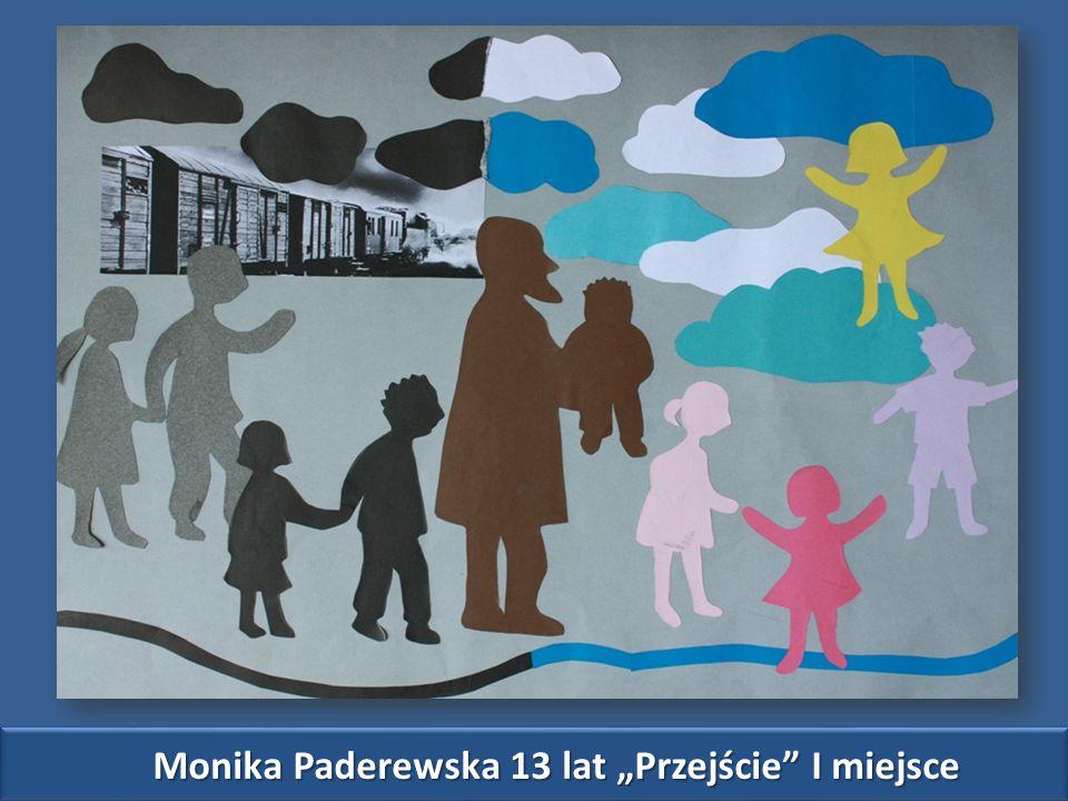 """Monika Paderewska 13 lat """"Przejście I miejsce"""