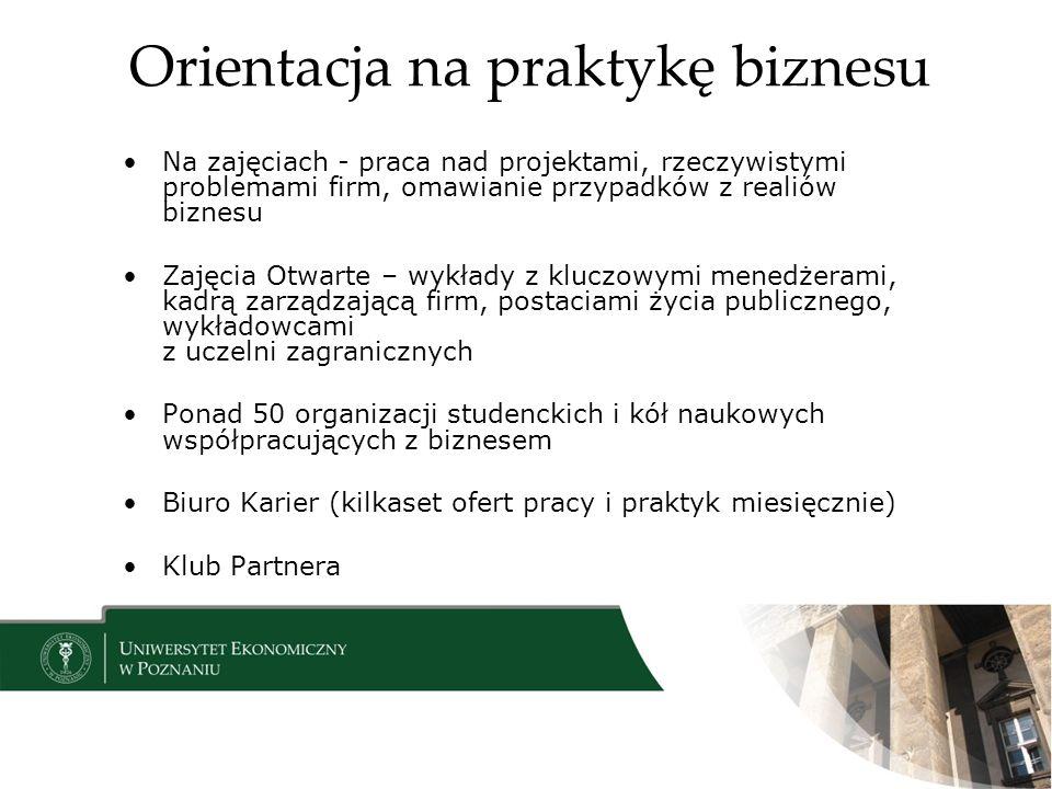 Orientacja na praktykę biznesu