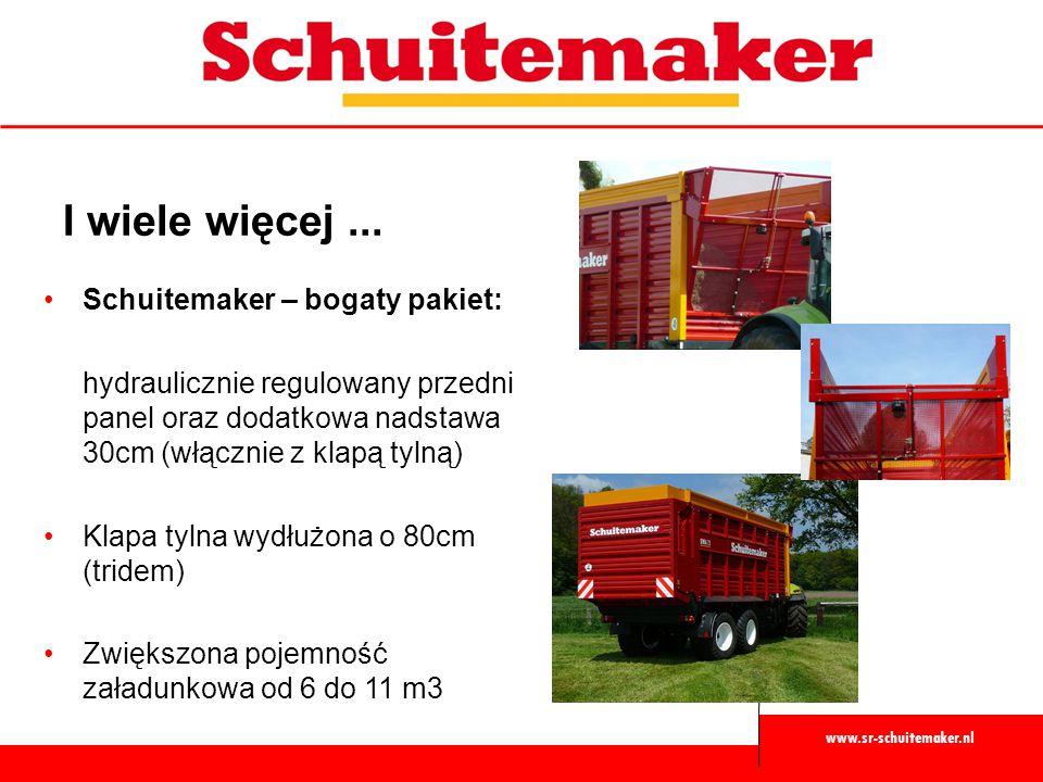 I wiele więcej ... Schuitemaker – bogaty pakiet: