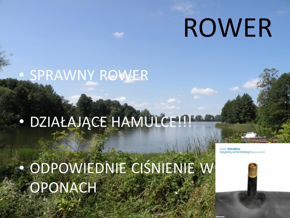 ROWER SPRAWNY ROWER DZIAŁAJĄCE HAMULCE!!!