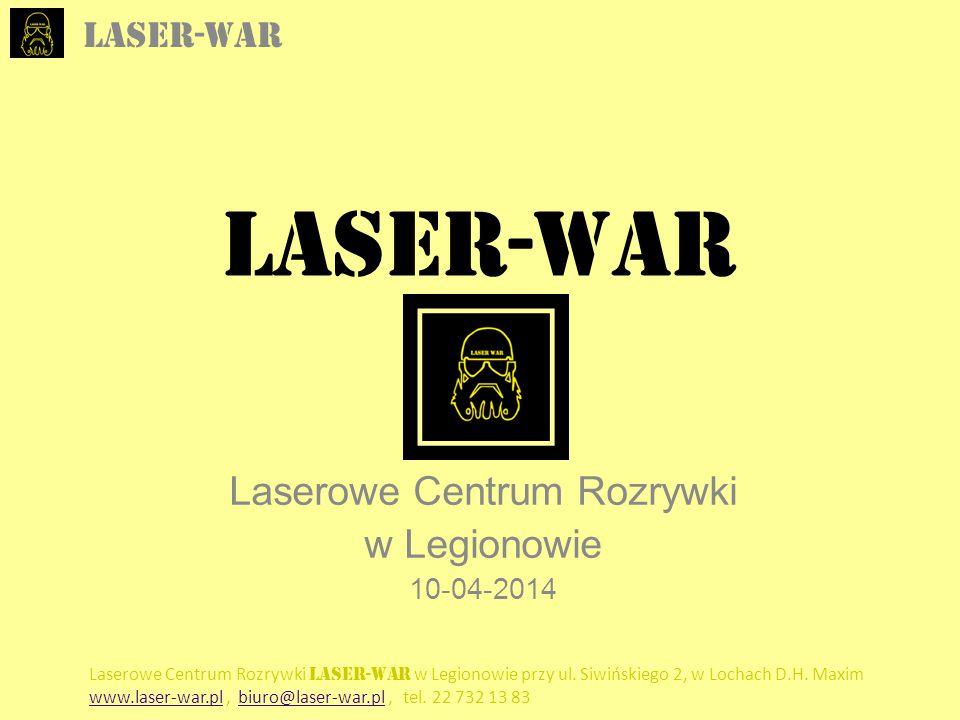 Laserowe Centrum Rozrywki w Legionowie 10-04-2014