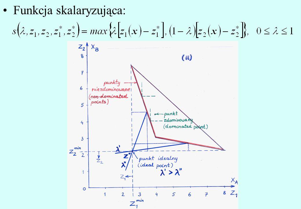 Funkcja skalaryzująca: