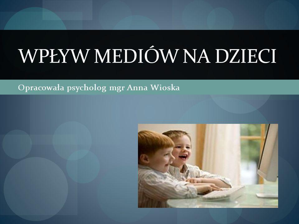 Opracowała psycholog mgr Anna Wioska