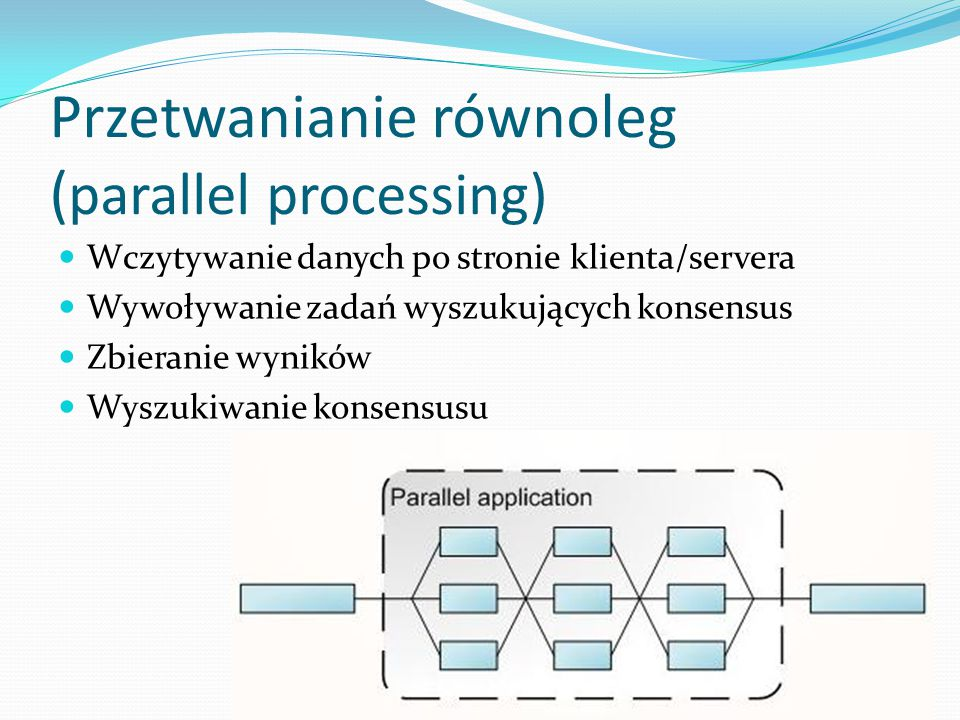 Przetwanianie równoleg (parallel processing)