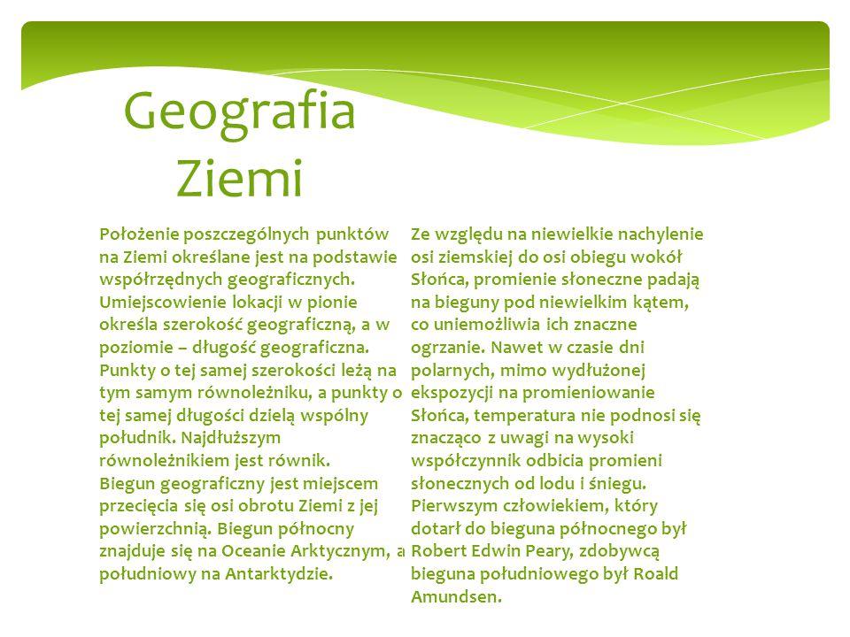 Geografia Ziemi