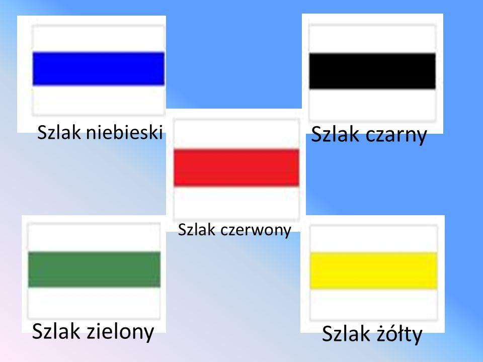 Szlak niebieski Szlak czarny Szlak czerwony Szlak zielony Szlak żółty