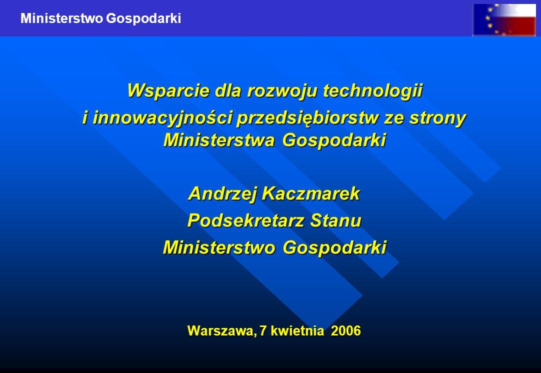 Wsparcie dla rozwoju technologii