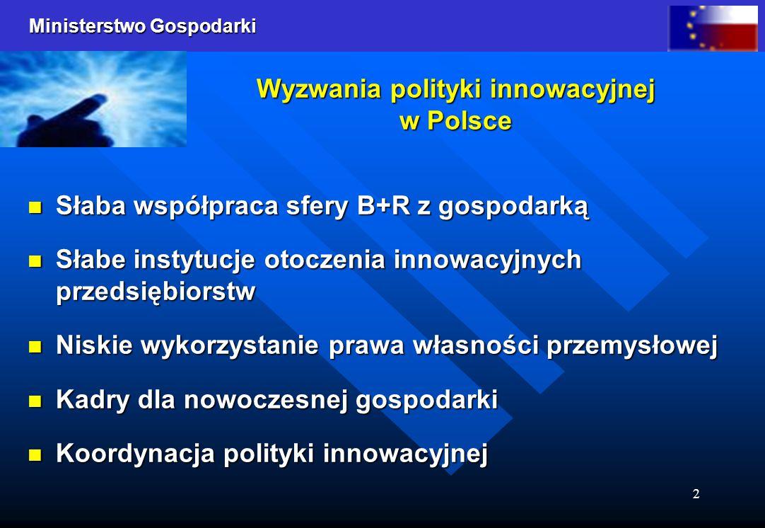 Wyzwania polityki innowacyjnej w Polsce