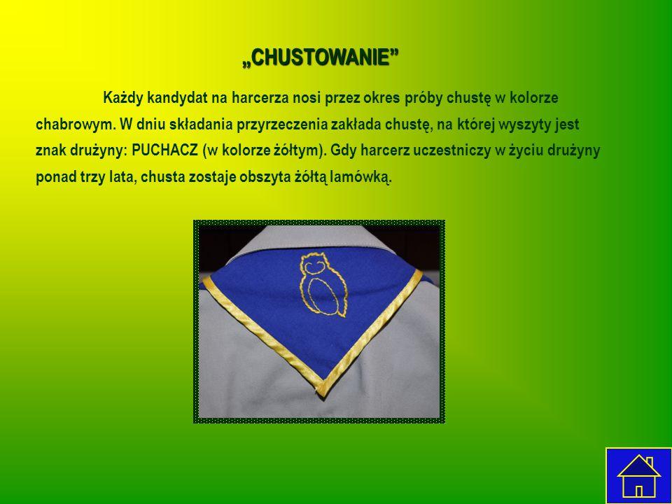 """CHUSTOWANIE"