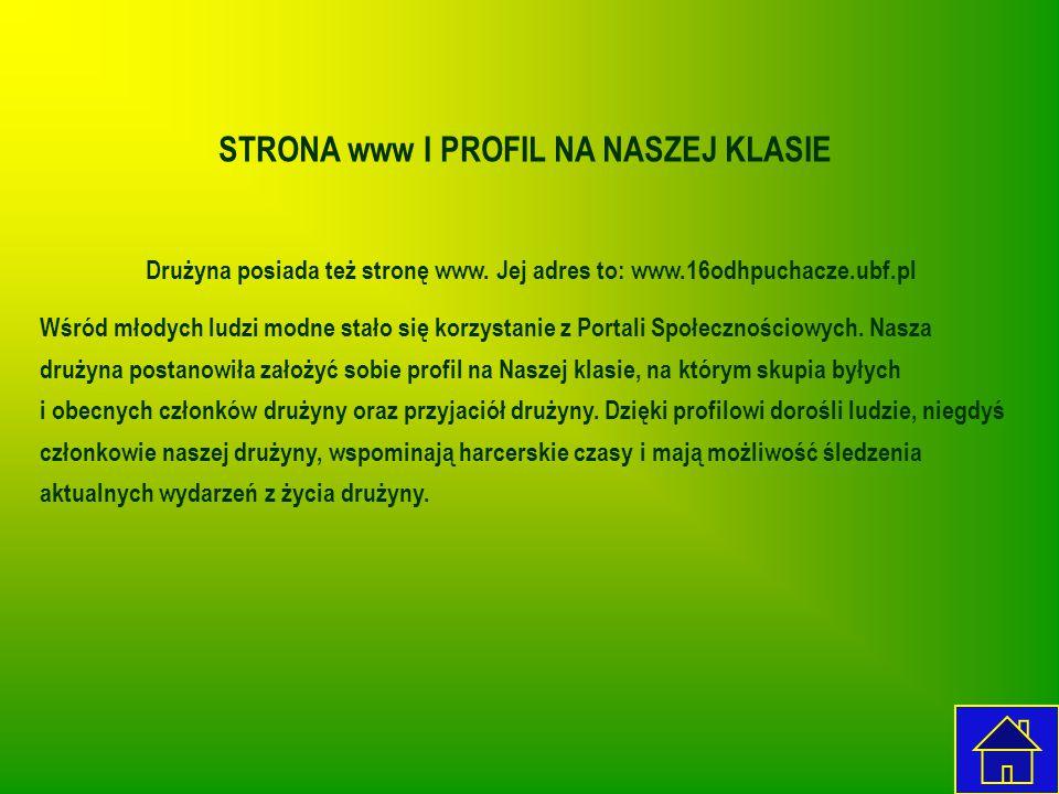 STRONA www I PROFIL NA NASZEJ KLASIE