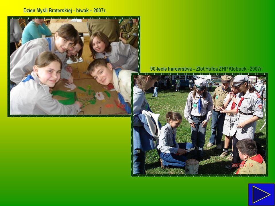 Dzień Myśli Braterskiej – biwak – 2007r.