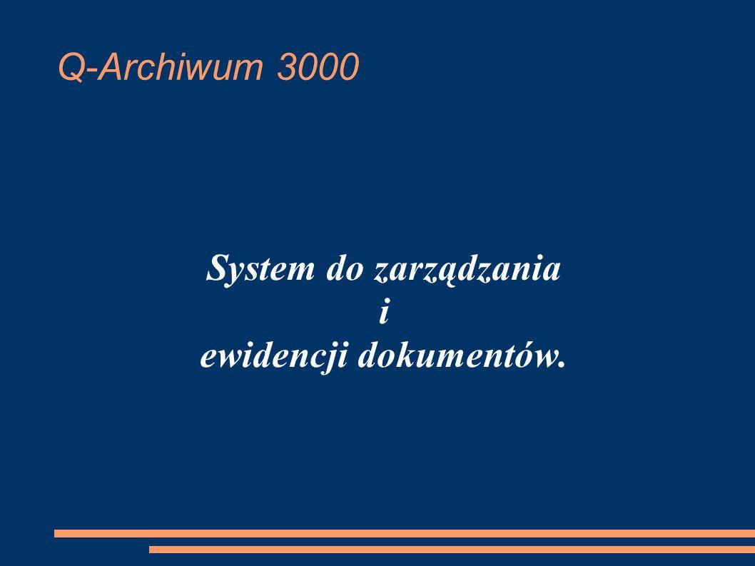 System do zarządzania i ewidencji dokumentów.