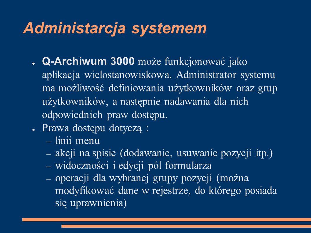 Administarcja systemem
