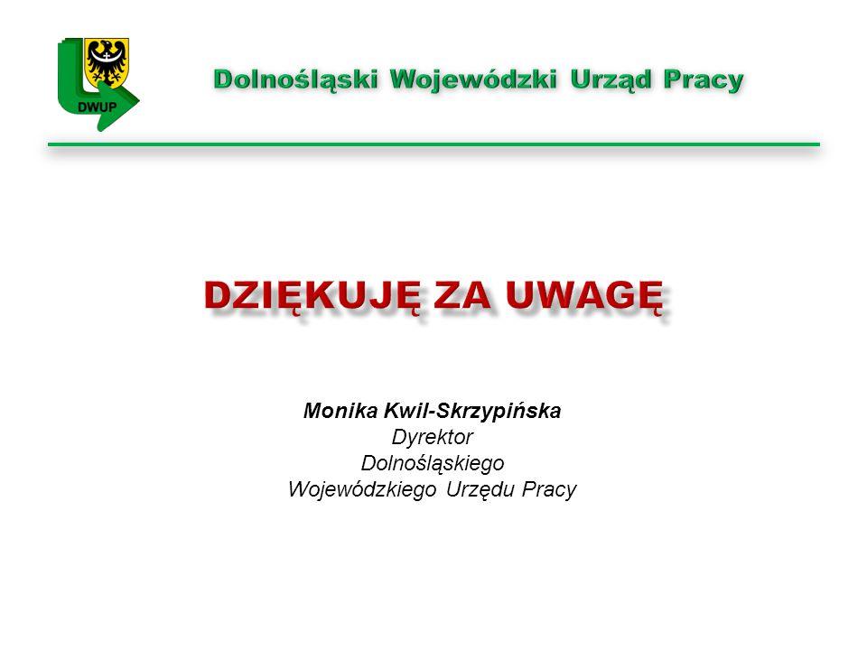 Dolnośląski Wojewódzki Urząd Pracy Monika Kwil-Skrzypińska