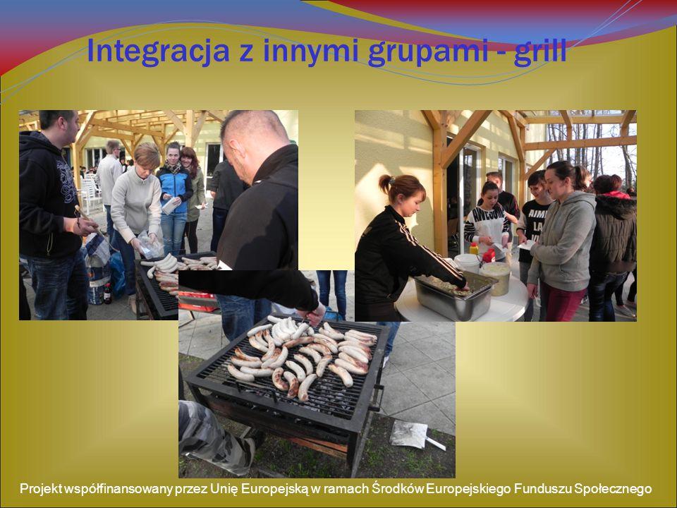 Integracja z innymi grupami - grill