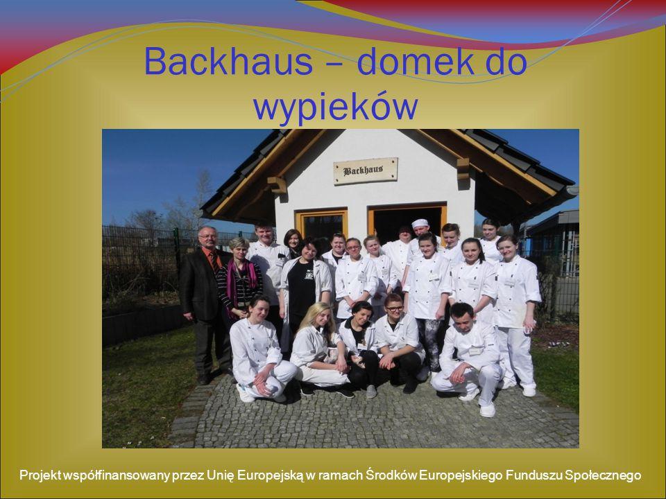 Backhaus – domek do wypieków