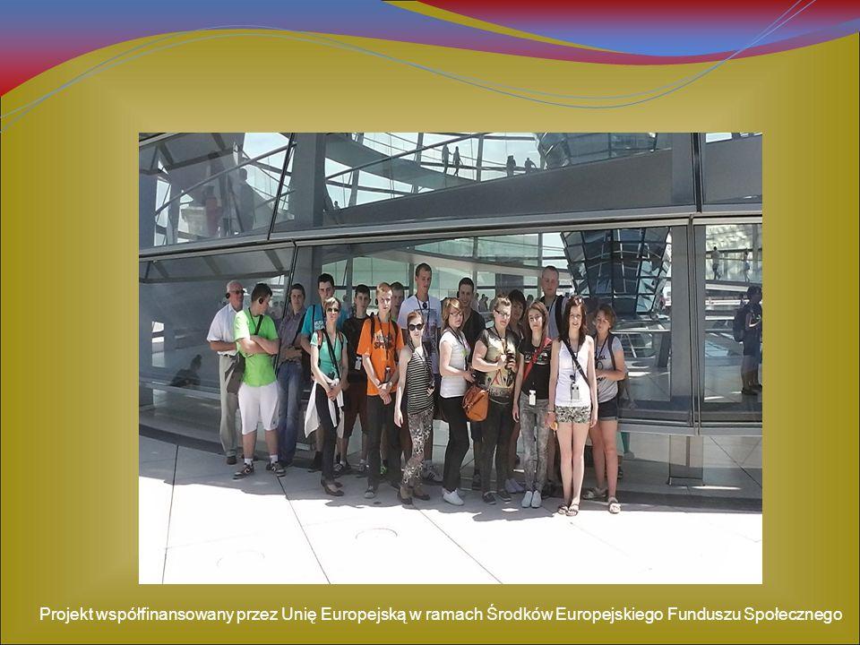 Projekt współfinansowany przez Unię Europejską w ramach Środków Europejskiego Funduszu Społecznego