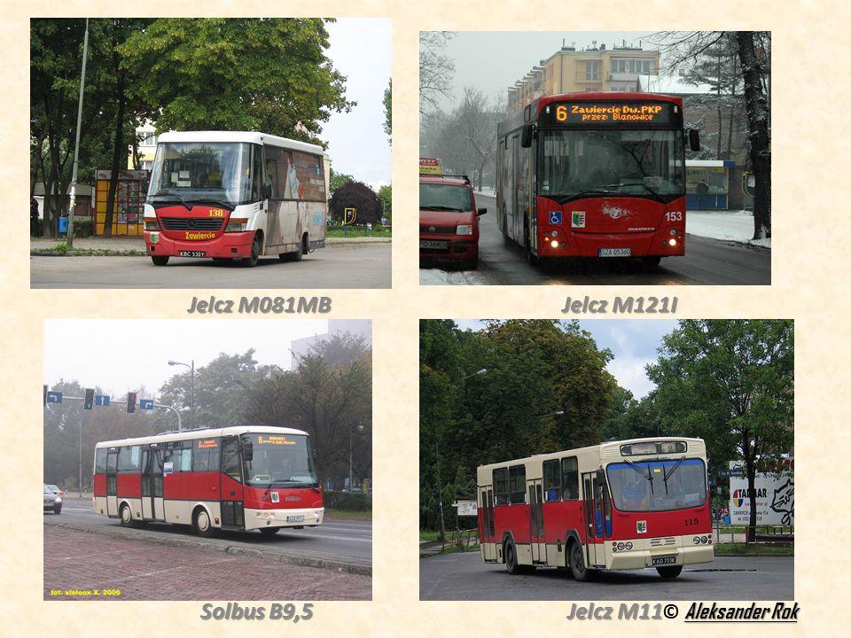Jelcz M081MB Jelcz M121I Solbus B9,5 Jelcz M11
