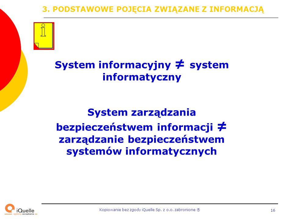 System informacyjny ≠ system informatyczny