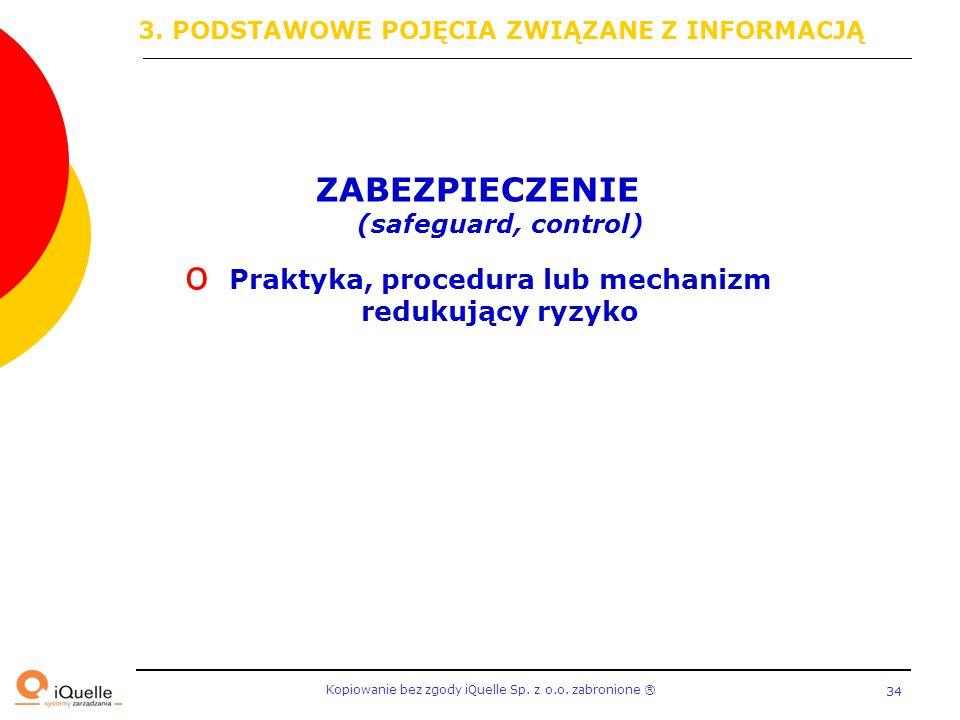 ZABEZPIECZENIE (safeguard, control)