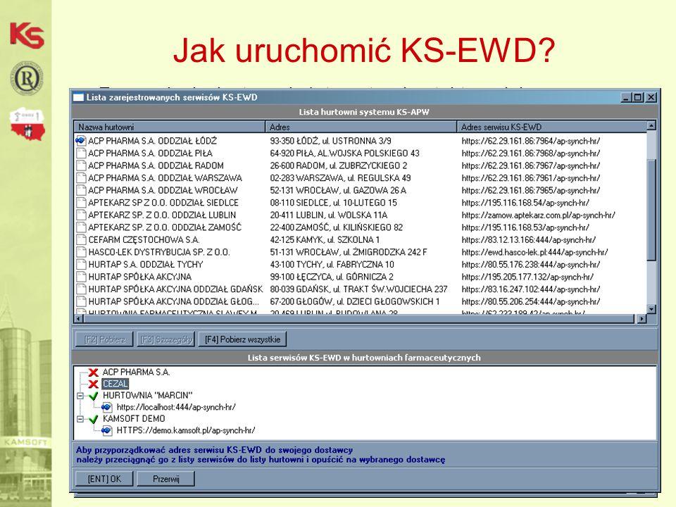 Jak uruchomić KS-EWD Zapewnienie dostępu do Internetu – kontakt z opiekunem informatycznym,