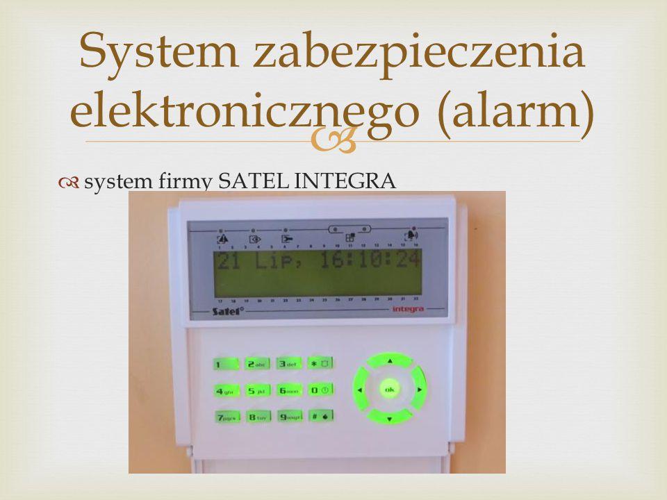 System zabezpieczenia elektronicznego (alarm)