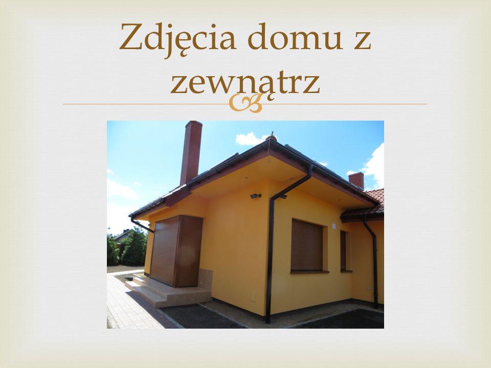 Zdjęcia domu z zewnątrz