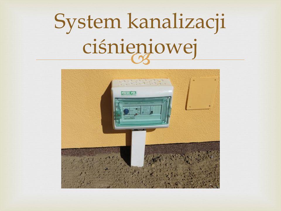 System kanalizacji ciśnieniowej
