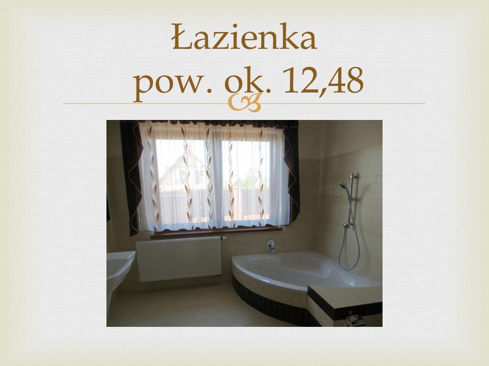 Łazienka pow. ok. 12,48