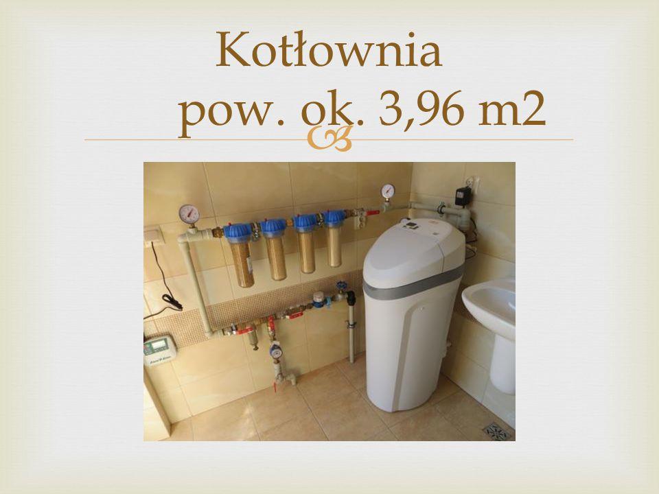 Kotłownia pow. ok. 3,96 m2