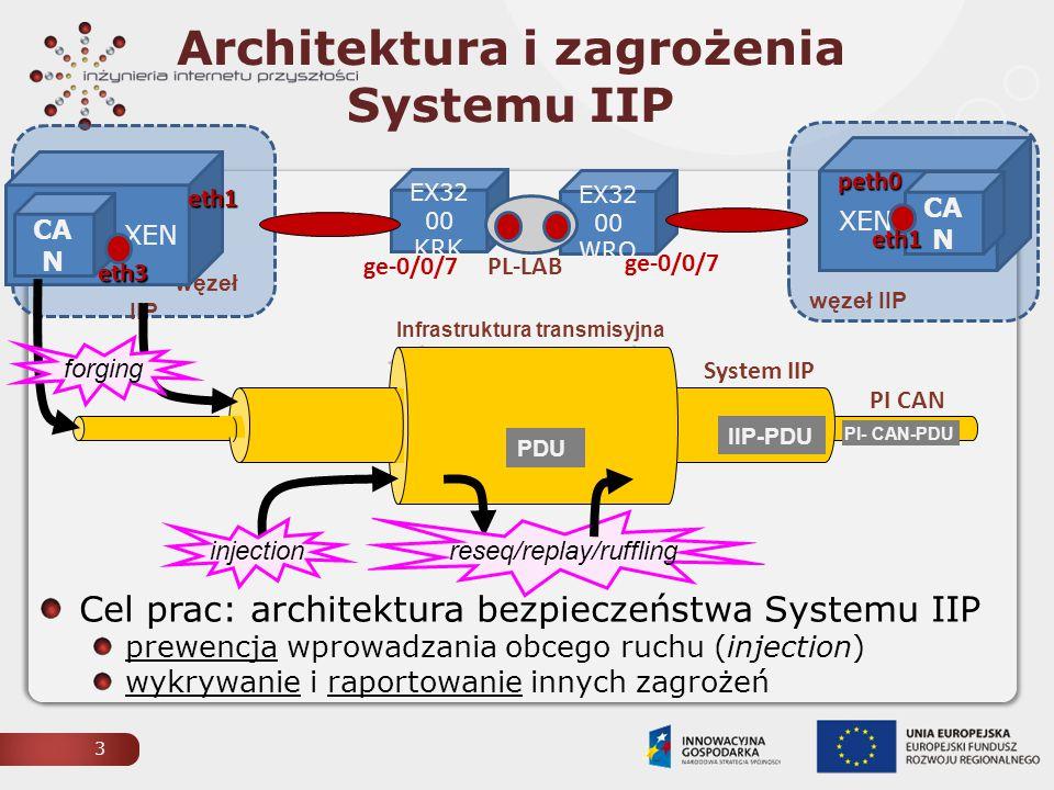 Architektura i zagrożenia Systemu IIP