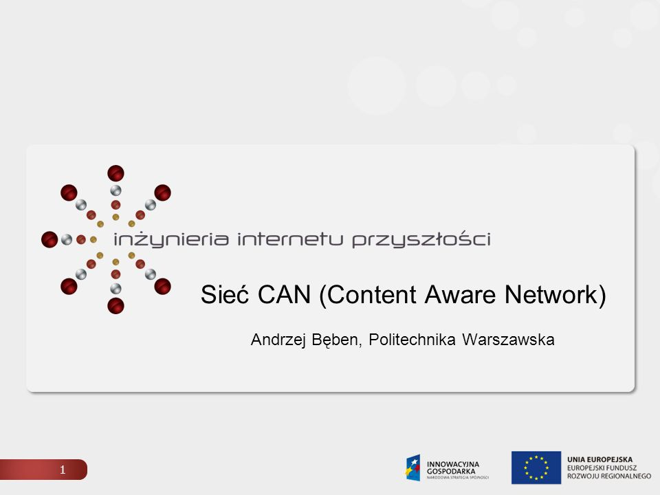 Sieć CAN (Content Aware Network)