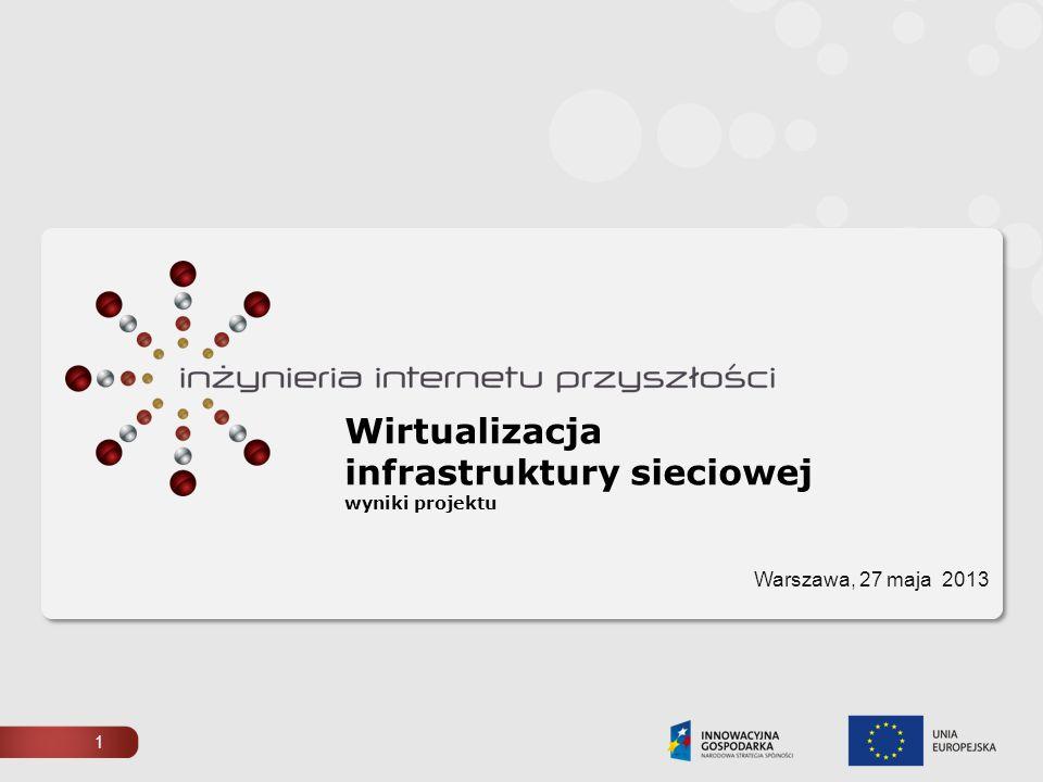 Wirtualizacja infrastruktury sieciowej wyniki projektu