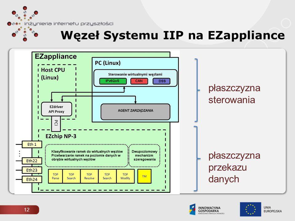 Węzeł Systemu IIP na EZappliance