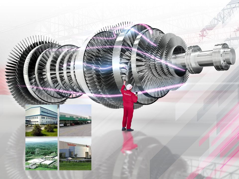 Oferuje usługi w zakresie remontów turbin o małej i dużej mocy oraz urządzeń pomocniczych