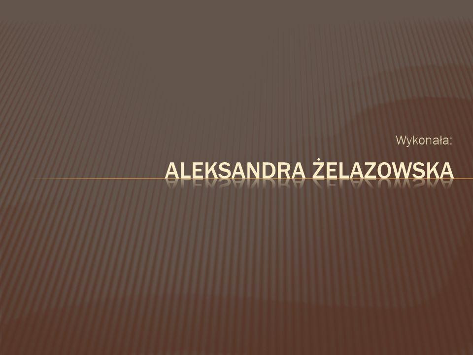 Aleksandra Żelazowska