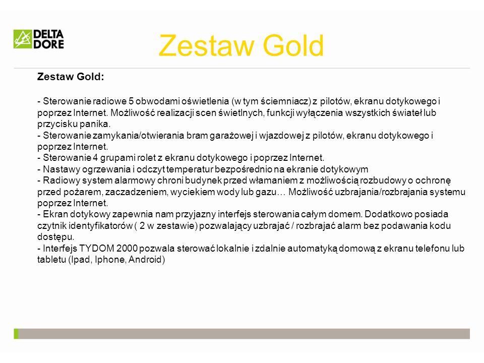 Zestaw Gold Zestaw Gold: