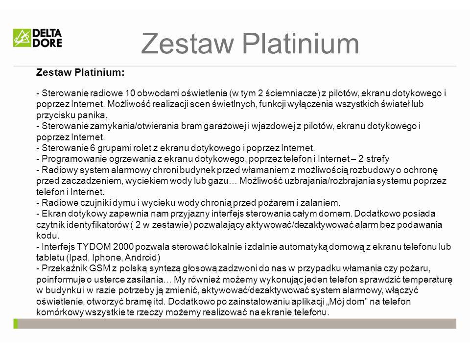 Zestaw Platinium Zestaw Platinium: