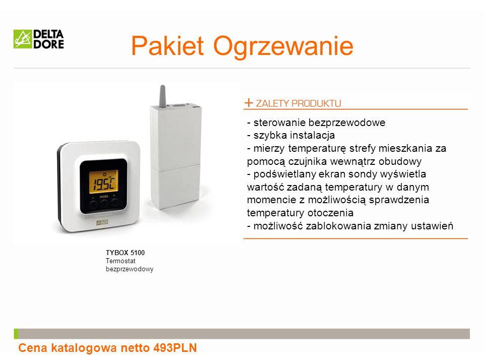 Pakiet Ogrzewanie Cena katalogowa netto 493PLN