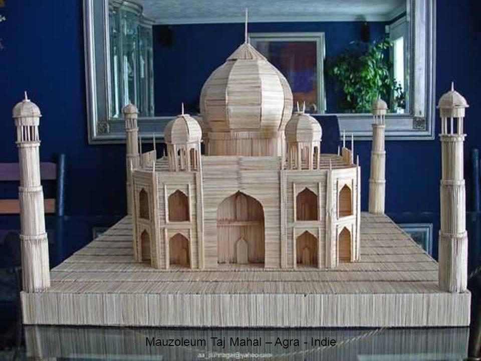 Mauzoleum Taj Mahal – Agra - Indie