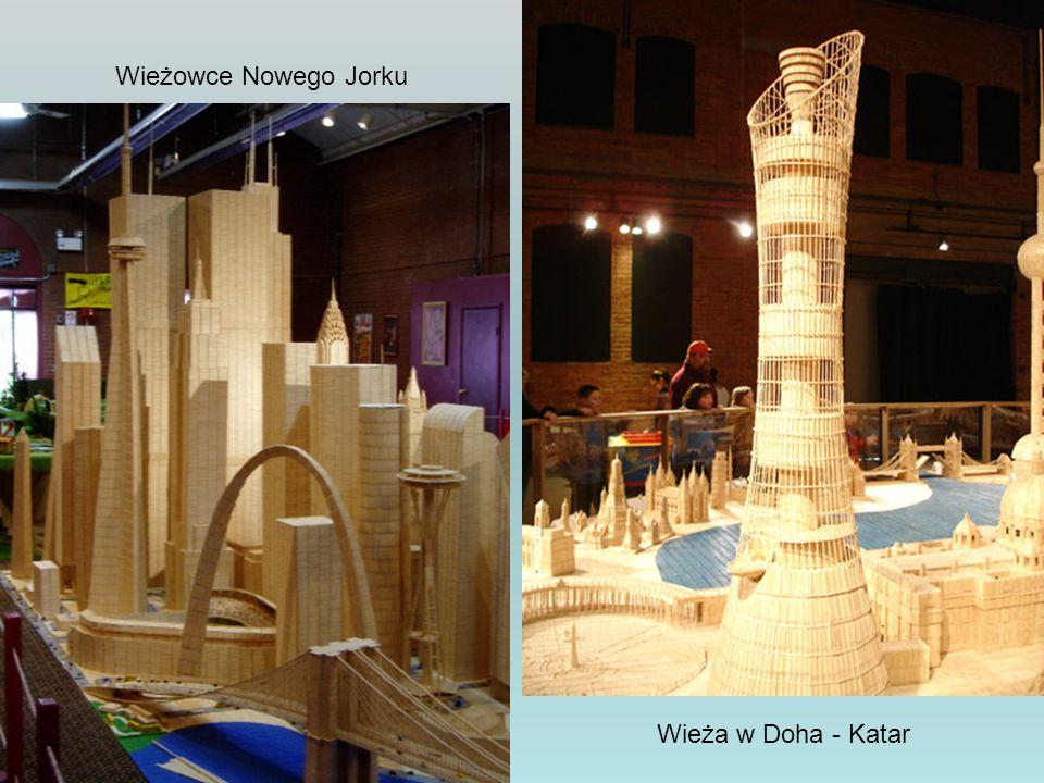 Wieżowce Nowego Jorku Wieża w Doha - Katar