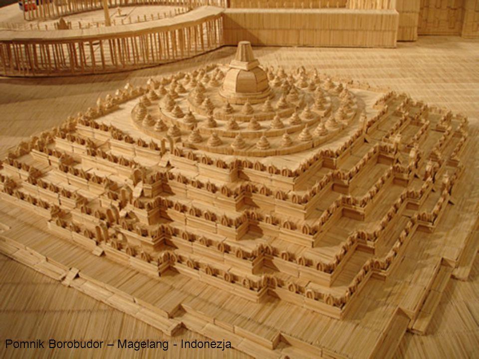 Pomnik Borobudor – Magelang - Indonezja