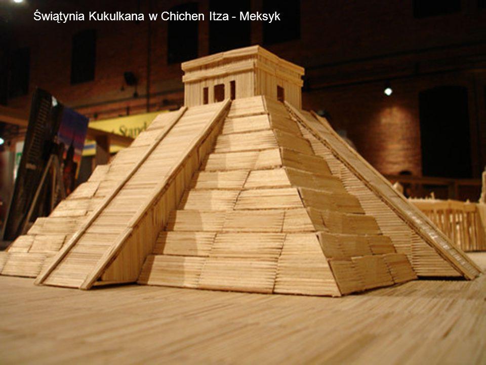 Świątynia Kukulkana w Chichen Itza - Meksyk