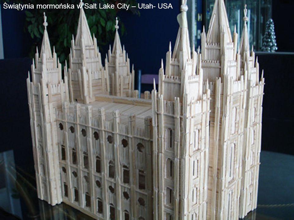 Świątynia mormońska w Salt Lake City – Utah- USA