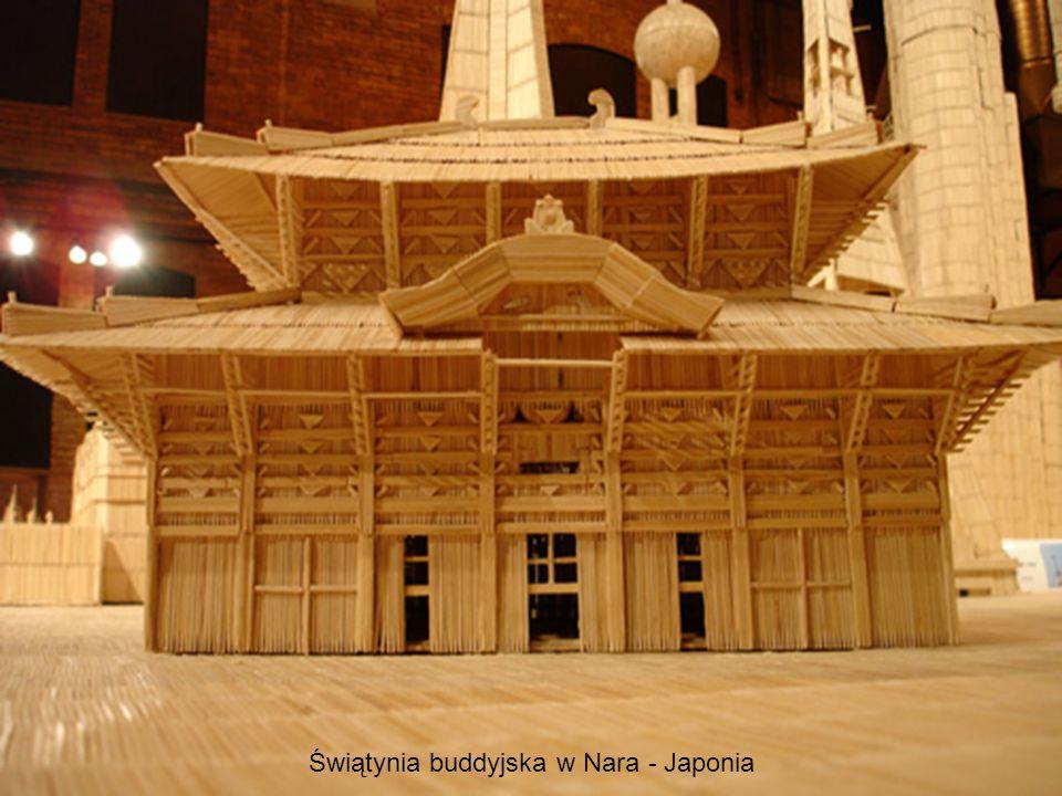 Świątynia buddyjska w Nara - Japonia
