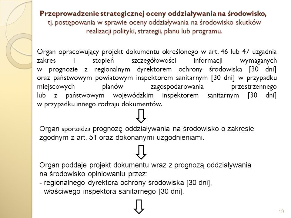 Przeprowadzenie strategicznej oceny oddziaływania na środowisko, tj