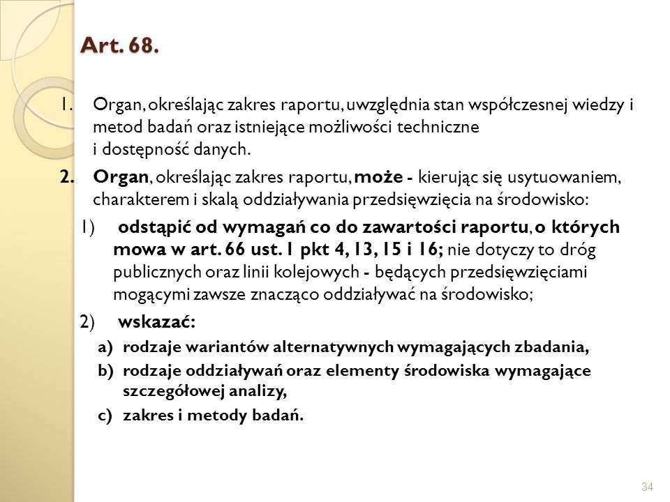 Art. 68.